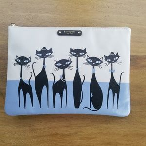 Kate Spade Cats Jazz Things Up Gia Pouch